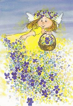 Flower Angel by Virpi Pekkala by floquilter, via Flickr