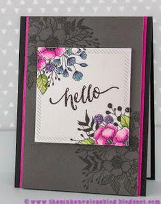 The Pink Envelope: Wplus9 Botanical Bunch Watercoloring