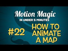 Motion Magic in Under 5 Minutes: how to create an animated map in Motion! http://www.motionvfx.com/B3961  #motion #apple #tutorial #filmmaking