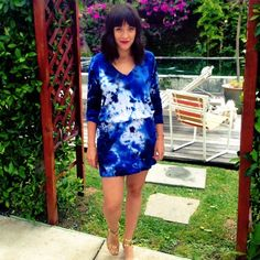 Tie dye for summer. Pose by alisa