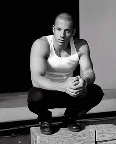 Vin Diesel. Hot. Healthy. First time I saw him, my mouth literally dropped open. Dunno why.