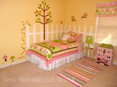 Confessions of a Semi-Domesticated Mama: Show Us Your House: Maia's Bedroom