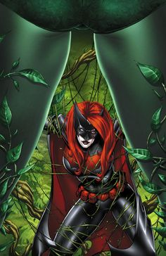 Ivy and Batwoman by ~BlondTheColorist on deviantART