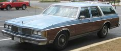 """had my """"silver bullet"""" baby blue  Oldsmobile station wagon bought Friday May 13th... forget what year, some of the best car stories with this one... never passed inspection, stolen, found..."""
