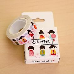 Misstime Japanese Paper Masking Tape Collection