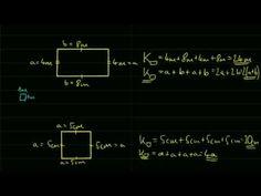 Kerület és terület alapok (téglalap és négyzet) - YouTube Tantra, Weather, Education, Math, Youtube, Movie Posters, Movies, Kids, Mathematics