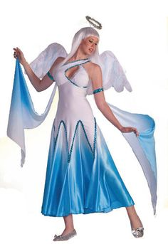 Womens Blue Angel Halloween Costume #CompleteCostume