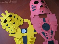 Bionicle costumes   Flickr - Photo Sharing!