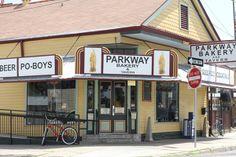 Best roast beef po-boy Parkway Bakery  Tavern RO Domilise's