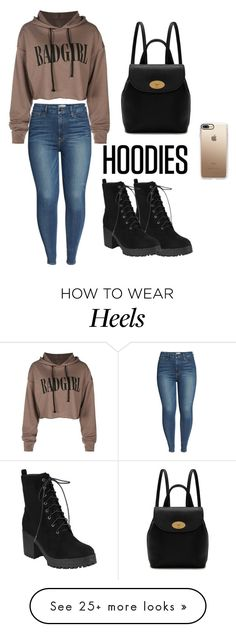 """HOODIES"" by melisamesanovic on Polyvore featuring Good American, Mulberry, Casetify and Hoodies"