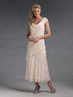 Capri by Mon Cheri  |  Social Occasion Dress  |  Style #CP11016-3