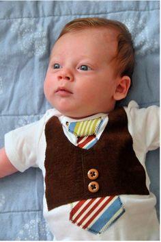 Cutest Baby Boy Onsie...I really want this onsie!