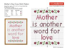 Mother's Day Pattern