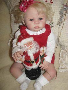 Развиваем Новогоднее настроение! Кукла реборн Малышка Вероника приглашает в гости! / Куклы Реборн Беби - фото, изготовление своими руками. Reborn Baby doll - оцените мастерство / Бэйбики. Куклы фото. Одежда для кукол