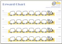 Really cute printable reward charts for toddlers