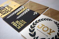 metallic-holiday-cards