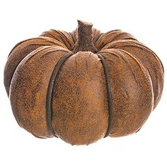5'Hx7.25'W Artificial Pumpkin -Brown (pack of 3) *** More info could be found at the image url.