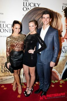 Dena Kaplan, Alicia Banit and Thomas Lacey... 3 of my love's from Dance Academy