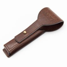 b14e5bdc27 Handcrafted Leather Razor Case by Captain Fawcett. A beautifully hand  crafted