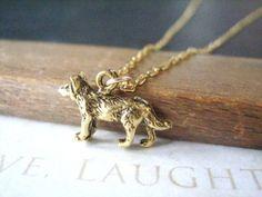 $18 wolf necklace (kinda dorky, but I like it)
