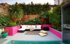 Jardines de estilo mediterraneo por Gullaksen Architects