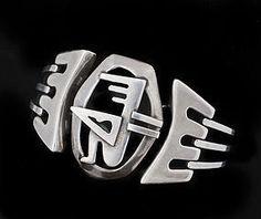 Salvador Teran Mexican silver Bracelet ~ the Archer