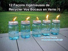 12 Façons Ingénieuses de Recycler Vos Bocaux en Verre.
