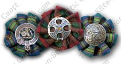 Tartan_Rosettes_with_Brooches.jpg 500×267 pixels