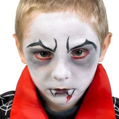 Maquillage simple halloween enfant