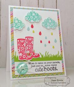 Stamping with a Passion!: Taylored Expressions April Release: Bloomin' Boots