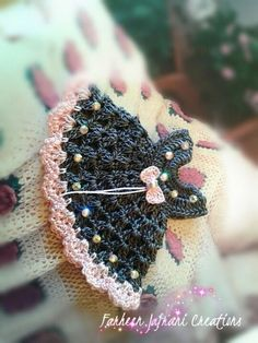 Mini dress fridge magnet-i love the color inspiration for a future baby dress Thread Crochet, Crochet Motif, Knit Crochet, Crochet Patterns, Crochet Summer, Crochet Ideas, Crochet Doll Clothes, Crochet Baby Shoes, Crochet Dolls
