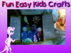Bible Story Craft Creation in a Box Completed