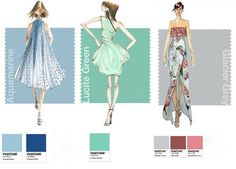 Pantone Fashion Week Report: Designers Pick Their Spring 2015 Colors - Accessories Magazine Pantone 2015, Pantone Color, Allure Couture, Couture Mode, Couture Fashion, New Look Clothes, Spring 2015 Fashion, Palette, 2015 Trends