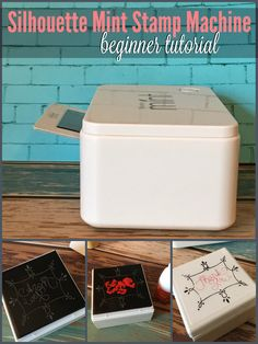 Silhouette Mint Stamp Machine Tutorial for Beginners