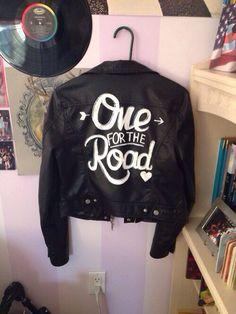 Arctic Monkey's black leather jacket (!!!!!). I want one so bad
