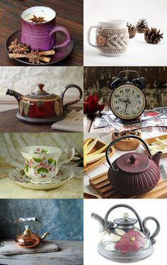 Tea time or coffe! (La hora del té o café!) by dayanos art on Etsy--Pinned with TreasuryPin.com