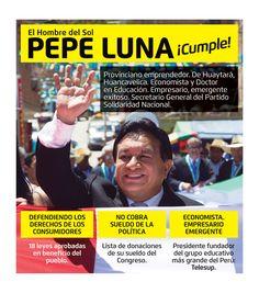 PALABRA CUMPLIDA   Pepe Luna – Vicepresidente