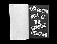 Manifestos Matthijs Matt van Leeuwen Joseph Han Spread The Social Role Of The Graphic Designer Pierre Bernard 2014