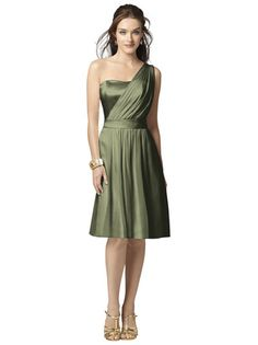 Shop Dessy Bridesmaid Dress - 2862 in Lux Chiffon at Weddington Way. Find the perfect made-to-order bridesmaid dresses for your bridal party in your favorite color, style and fabric at Weddington Way.