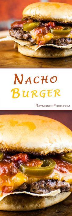 Hamburger Recipes, Beef Recipes, Cooking Recipes, Healthy Recipes, Grub Burger, Burger Buns, Great Recipes, Dinner Recipes, Delicious Burgers