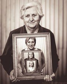 Generational family portrait