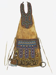 Siberian shaman's apron housed int he collection of the British Museum. http://www.britishmuseum.org/research/publications/online_journals/technical_research_bulletin/bmtrb_volume_6.aspx
