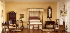 Thorne Rooms at KMA, New England Bedroom by Knoxville Museum of Art, via Flickr