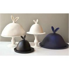 bunny cake stands @h wood