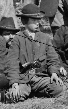 Union Scout... Brandy Station, Virginia...March 1864.