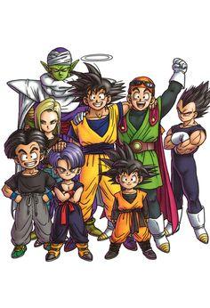 Dragon Ball Z - Piccolo, Goku, Gohan, Vegeta, Android 18, Krillin, Trunks, & Goten