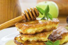 Receta de panqueques de manzana