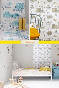Illustrated Wallpapers by Famille Summerbelle << Illustration Friday