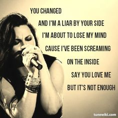 Evanescence, forever and always.