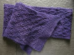 SALE PATTERN Lacy Leaves Pdf Scarf Knitting by littletheorem, $1.20